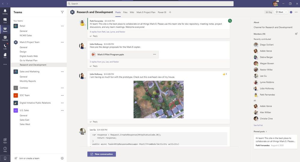 Microsoft Teams-情報ペインに固定された投稿-新しい会話Button.jpg