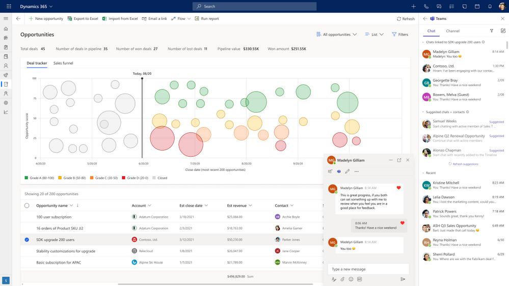 MicrosoftTeamsの新機能というタイトルのブログ投稿のサムネイル画像8 |  Microsoft Ignite 2021