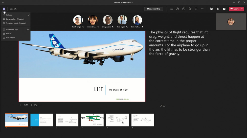 MicrosoftTeamsの新機能というタイトルのブログ投稿のサムネイル画像2 |  Microsoft Ignite 2021