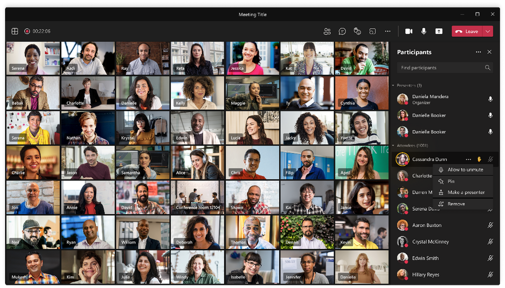 MicrosoftTeamsの新機能というタイトルのブログ投稿のサムネイル画像5 |  Microsoft Ignite 2021
